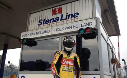 Stig lookalike on Stena Line ferry