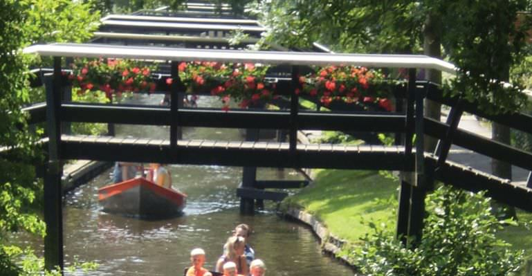 Giethoorn, the Venice of Holland with Stena Line