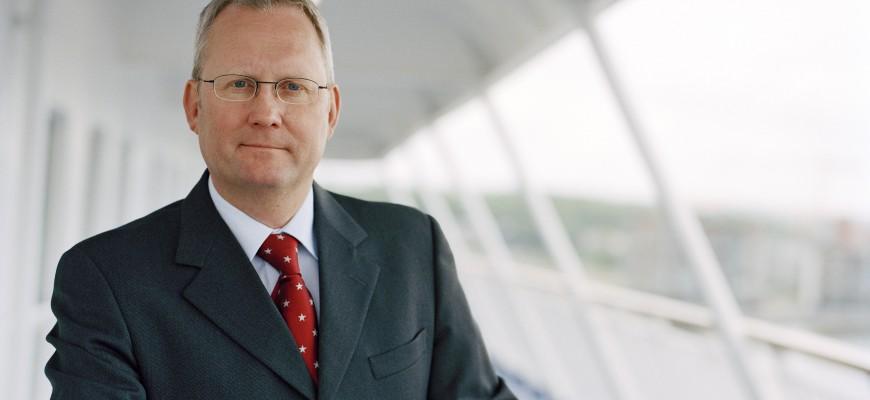 Gunnar Blomdhall, CEO of Stena Line