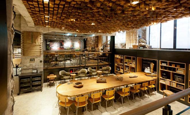 Starbucks Amsterdam Bank