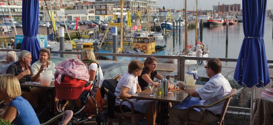 Terrace Harbour Scheveningen