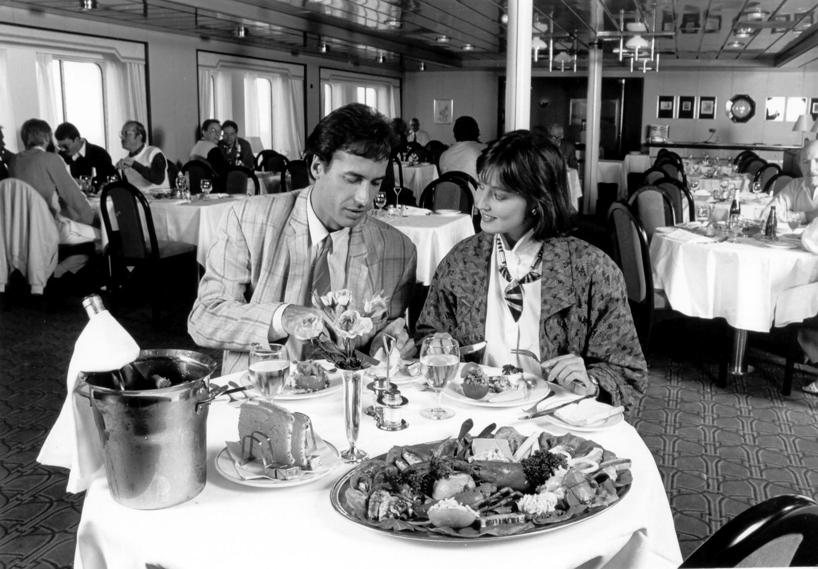 KONINGIN BEATRIX 1986-17 Rembrandt-restaurant in 1986 kopie