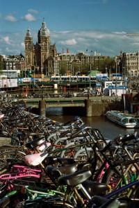 Bikes at Amsterdam Central Station