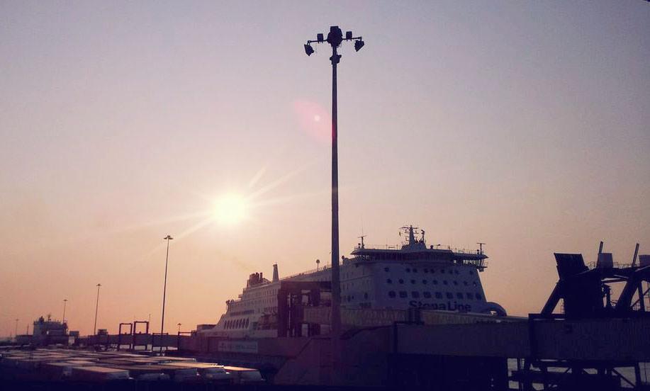 MSC Hollandica Sunset Harwich
