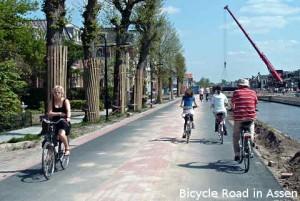 Cycling in Assen