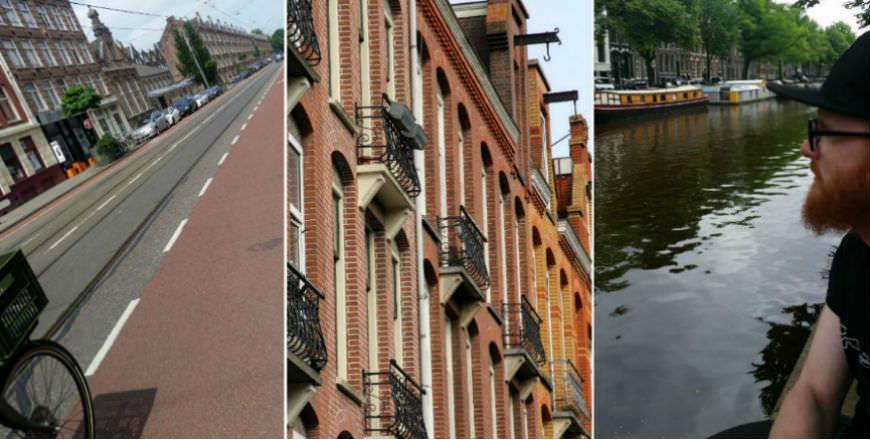 Amsterdam on bike