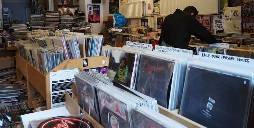 distortion records amsterdam
