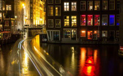 Amsterdam at Christmas Time