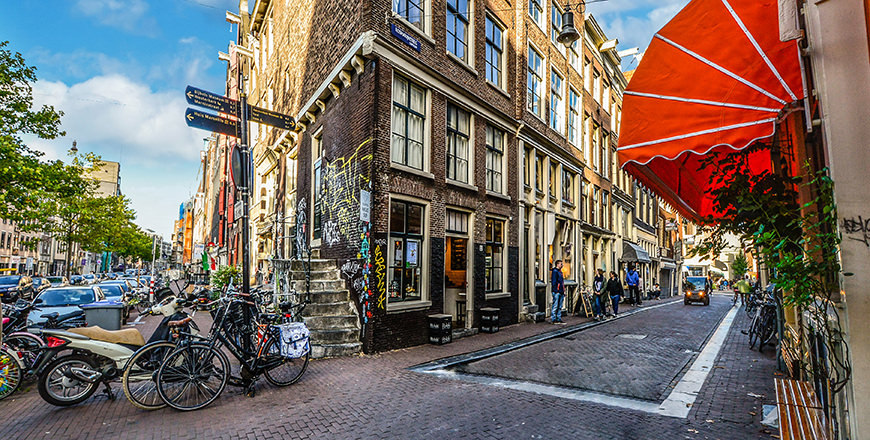 Amsterdam is a fantasic weekend break and has to be one of the most cycling friendly cities you can visit