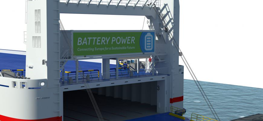 Battery Power at Stena Line